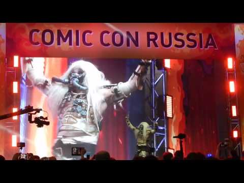 Comic con 2016 Россия Москва Крокус Сити