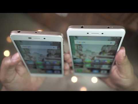 Xiaomi REDMI 4A Unboxing & Hands on Review by Gadgets Portal (vs REDMI 3S)