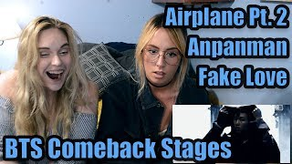 "BTS Comeback Stages (""Fake Love,"" ""Airplane Pt. 2,"" ""Anpanman"") Reaction"