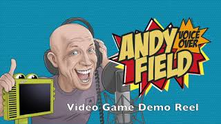 Andy Field Video Game Demo Reel Voice Over Actor