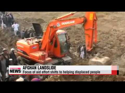 Rescue operation for Afghan landslide halted