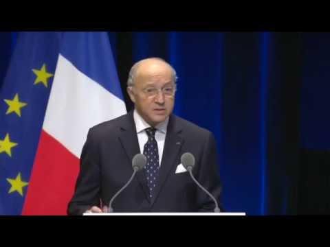 [Climat-Défense] Discours d'ouverture de M. Laurent Fabius