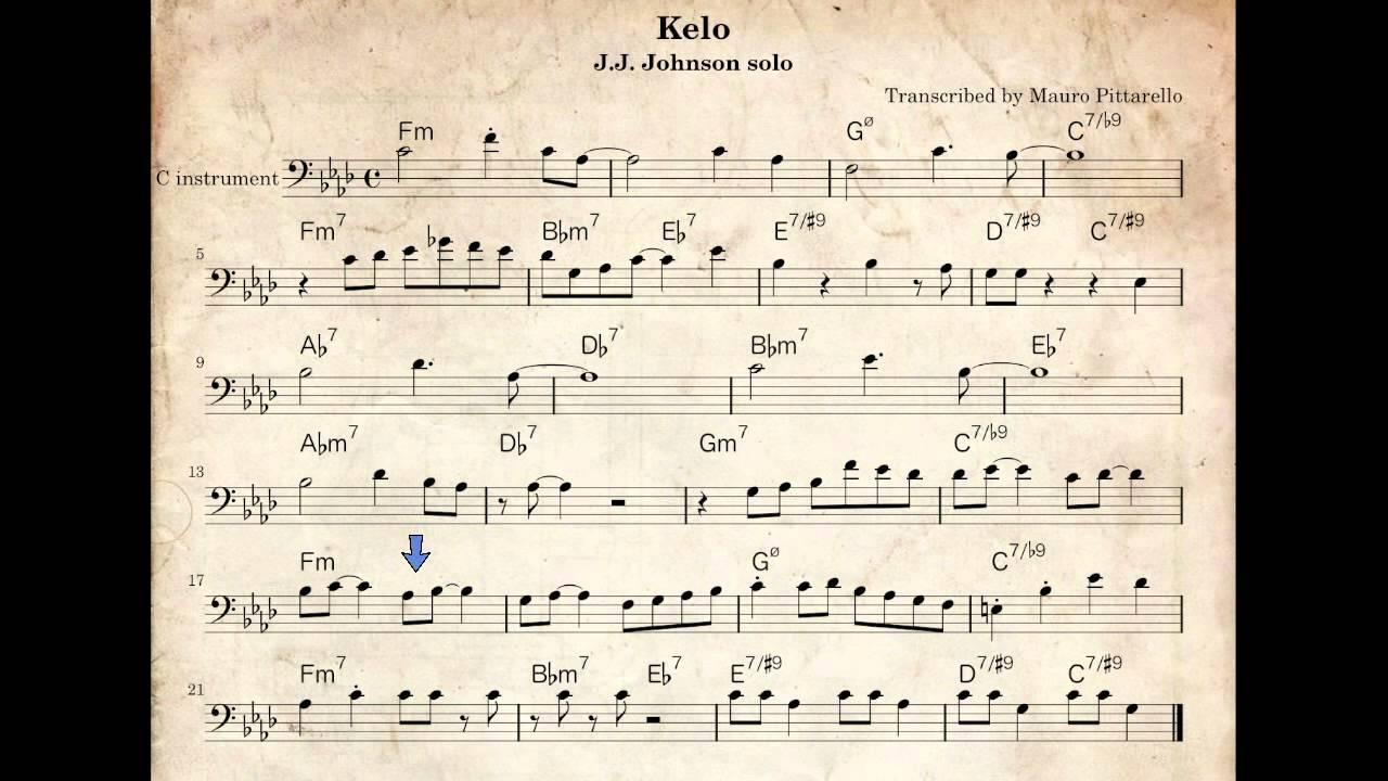 free jazz bass transcriptions pdf
