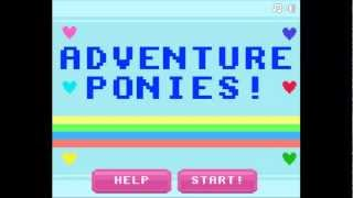 Let's Play Flash Games: Adventure Ponies Part 1 - Twilight Sparkle