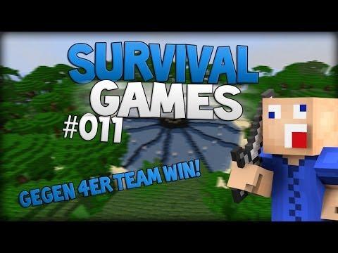 Minecraft Survival Games | Gegen 4ER Team WIN! | Catching Fire | [German/Deutsch] HD