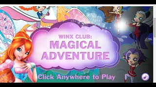 Винкс Магическое Приключение. Winx Magical Adventure. Эпизод игры.