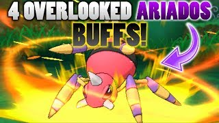 4 Overlooked Ariados Buffs In Pokemon Ultra Sun and Moon