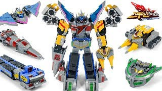 ChinaSenTai SpaceDeleter DX GalaxySaver Megazord Starr SolarSaver Five PowerBinding Transformation