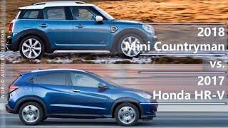 2018 Mini Countryman vs 2017 Honda HR-V (technical comparison)