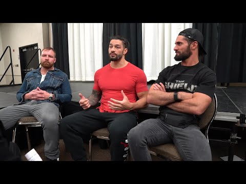 The Shield sits down with Michael Cole prior to their Final Chapter match later tonight