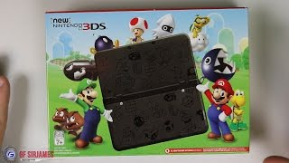 New Nintendo 3DS Super Mario Black Edition - Unboxing
