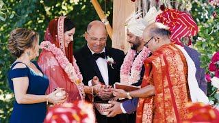Beautiful Hindu Christian Wedding // Paige & Kunal // Chicago Wedding Video
