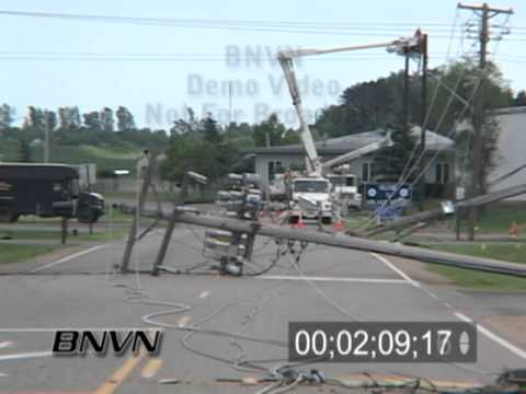6/24/2005 Storm Damage Aftermath from Lakeville, MN