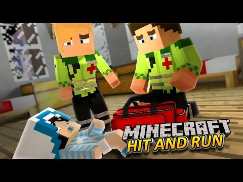 Minecraft-HIT AND RUN-BABY CHARLIE IS IN A CAR CRASH!!