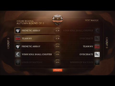 League of Legends Autumn Regional Round of 8 - Day 3