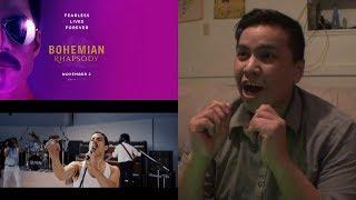 BOHEMIAN RHAPSODY   Official Teaser Trailer [HD] Reaction   20th Century FOX
