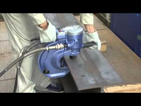 portable steel punching machine