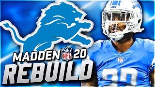 Rebuilding the Detroit Lions | Replacing Matt Stafford! Madden 20 Franchise