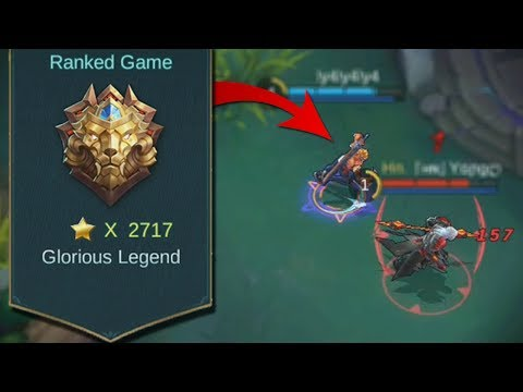 Worlds Best Player is Back! (World Records Stars) Mobile Legends Hayabusa Gameplay
