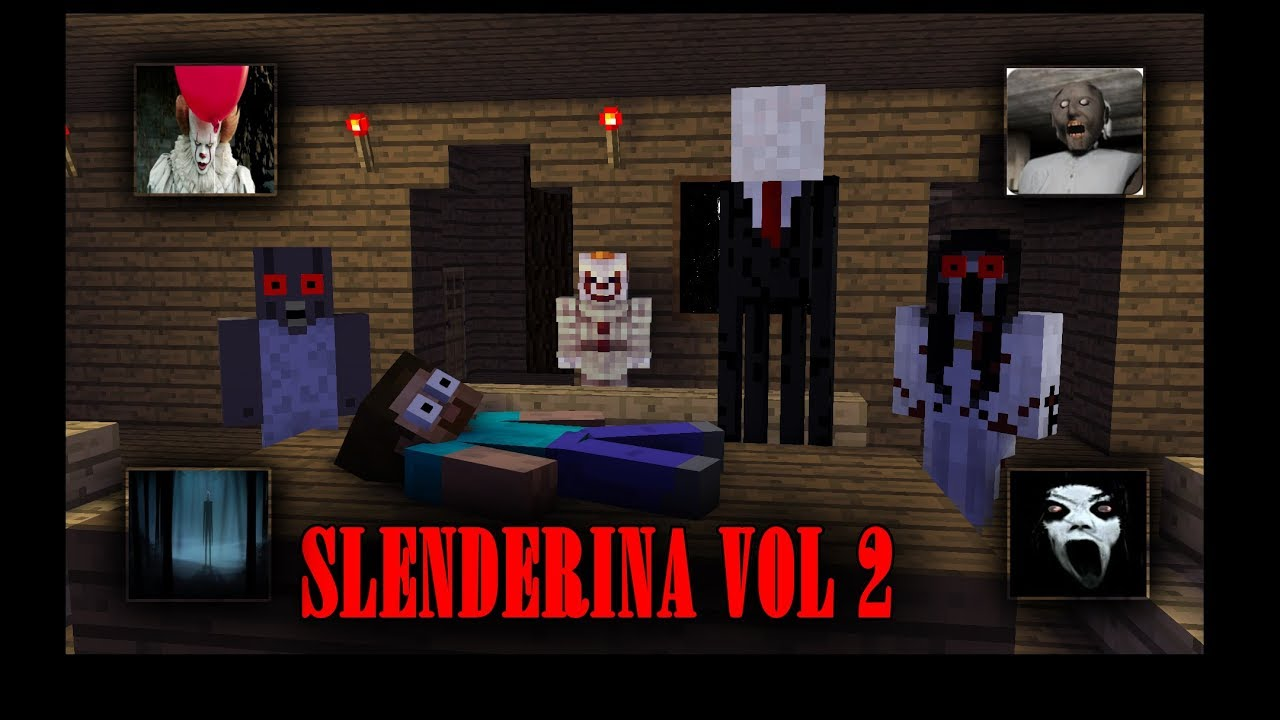 MONSTER SCHOOL : SLENDRINA VOL 2 feat ( Granny , Pennywise & Slenderman )