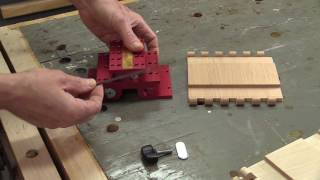 Wooden Hinges with your INCRA IBox & HingeCrafter