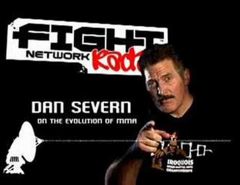 DAN SEVERN on FIGHT NETWORK RADIO Video