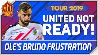 Bruno Fernandes Bidding War? Exclusive Man Utd Training Footage! Man Utd Transfer News