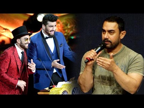 Aamir Khan's ANGRY Reaction To Ranver Singh & Arjun Kapoor Making Fun At IIFA 2015