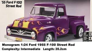 Revell 1:24 Ford 1955 F-100 Street Rod Kit Review