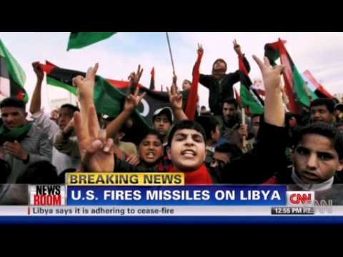 U.S. launches first missiles against Gadhafi forces - 19 March 2011