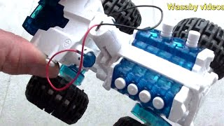 Free Energy 4wd off road car! See how much energy is in 1 DROP OF SALT WATER