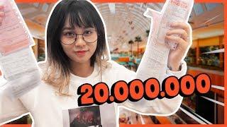 Lần đầu shopping hết 20 triệu || THY ƠI MÀY ĐI ĐÂU ĐẤY ???