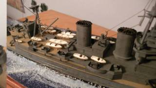 Heller 1/400 HMS Hood for the 2010 BasicModelling Model Competiton