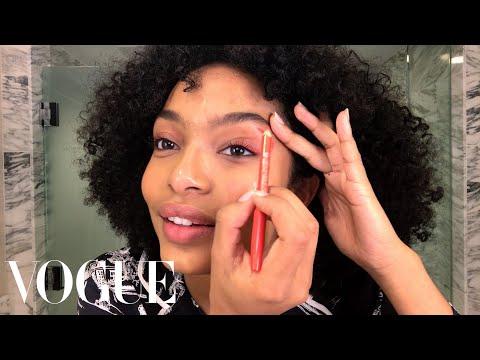 Yara Shahidi's Guide to Summer-Ready Eye Makeup | Beauty Secrets | Vogue