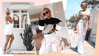 Pack With Me... & My Baby Bump! My Outfits for Byron | TRY ON FASHION HAUL