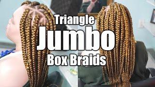 Triangle Jumbo Box Braids