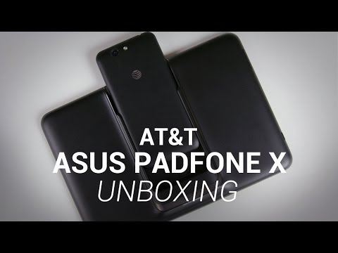 Asus PadFone X Unboxing