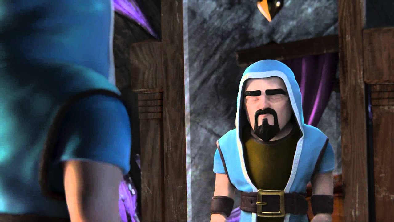 Wizard Clash Of Clans Wallpaper Clash Of Clans Official Wizard