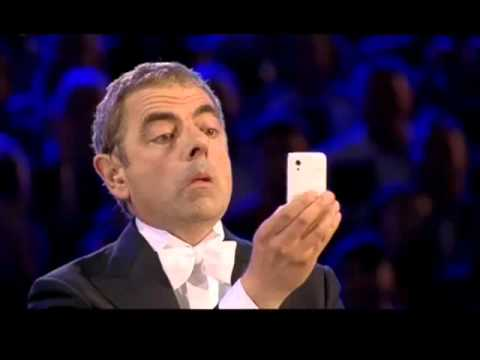 MR BEAN London 2012 Olympics Opening Ceremony funny pictures -