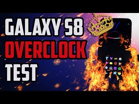 OVERCLOCKED Galaxy S8 performs an Antutu Benchmark Test