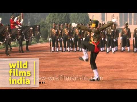 Presidents' Body Guard - Senior Most Regiment Of The Indian Army, Rashtrapati Bhavan video