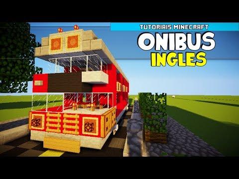 Tutoriais Minecraft: Como Construir um Ônibus Inglês