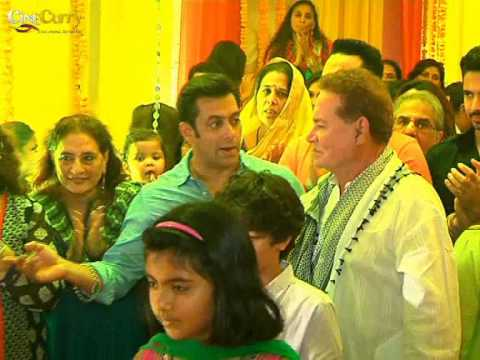 Ganesh Pooja At Salman Khan's House video