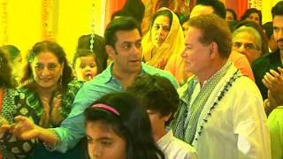 Ganesh Pooja at Salman Khans House