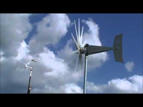 Missouri Wind and Solar new stars and stripes wind turbine