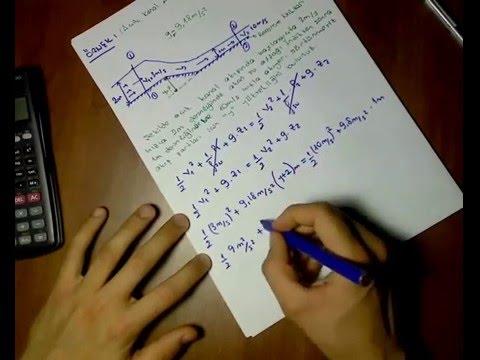 Akışkanlar Mekaniği - Bernoulli Örnek Soru Çözümü