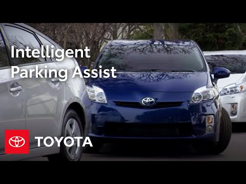 2010 Prius: Intelligent Parking Assist (IPA)
