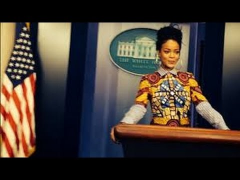 Rihanna's Weird White House Illuminati Ritual! (2014) video