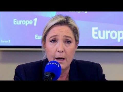 Marine Le Pen répond aux auditeurs