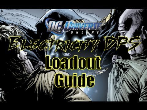 DCUO: Electricity DPS Loadout **Updated**